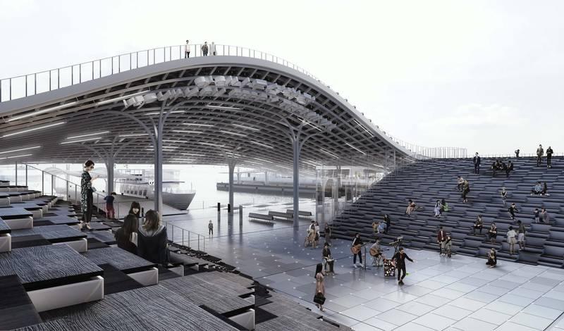 Name: Seoul Yeoui-Naru Ferry-Terminal - PlazaLocation: Seoul, South KoreaYear: 2017Courtesy MEAN