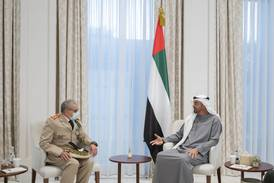 Sheikh Mohamed bin Zayed receives Inspector General of Royal Moroccan Armed Forces