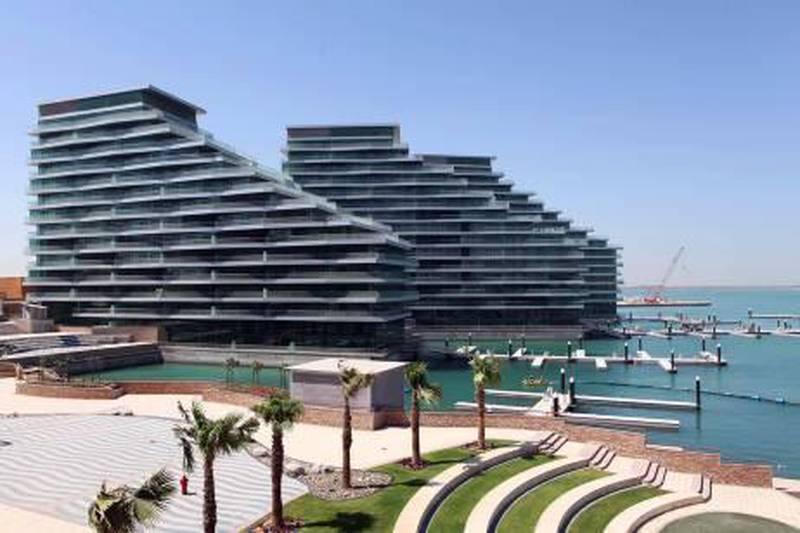 27SEPT2010 - ABU DHABI -  Al naseem residences at al Bandar by Aldar properties at Al Raha Beach in Abu Dhabi . Ravindranath.K / The National