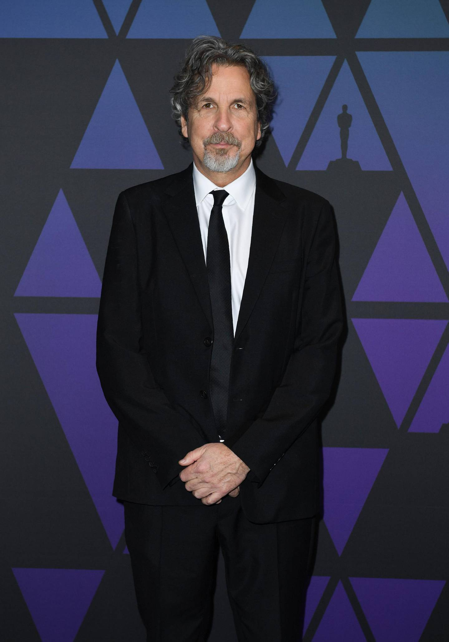 US director/screenwriter Peter Farrelly attends the 10th Annual Governors Awards gala hosted by the Academy of Motion Picture Arts and Sciences at the the Dolby Theater at Hollywood & Highland Center in Hollywood, California on November 18, 2018.   / AFP / VALERIE MACON