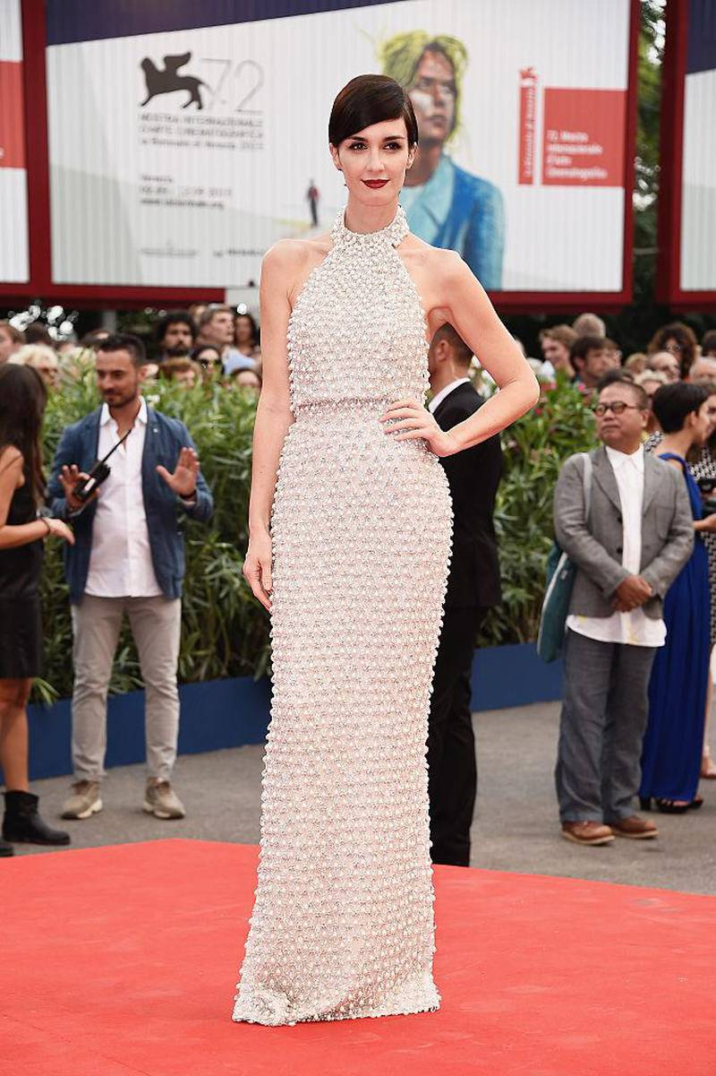VENICE, ITALY - SEPTEMBER 02:  Paz Vega attends the opening ceremony and premiere of 'Everest' during the 72nd Venice Film Festival on September 2, 2015 in Venice, Italy.  (Photo by Ian Gavan/Getty Images)