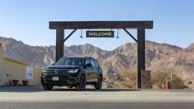 New Volkswagen Teramont takes on tough terrain in the UAE's Hatta