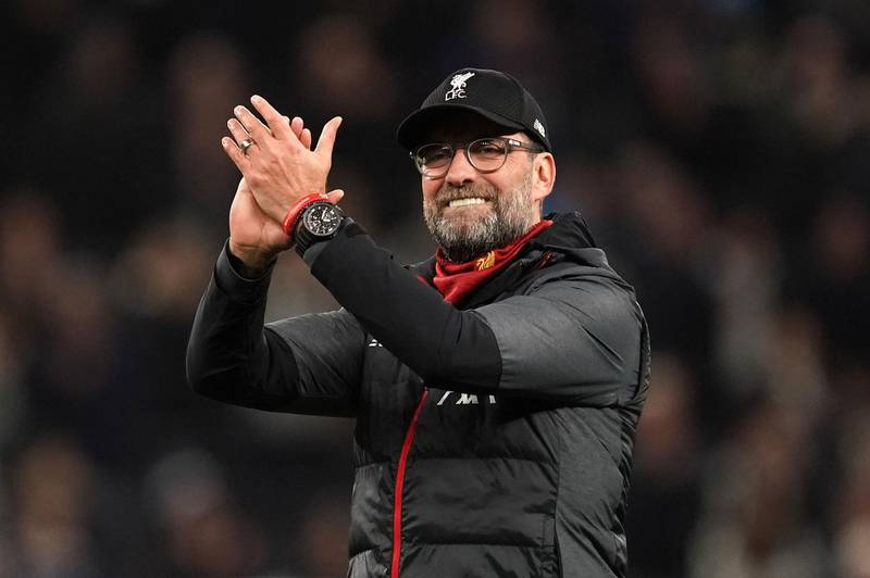 File photo dated 11-01-2020 of Liverpool manager Jurgen Klopp. PA Photo. Issue date: Thursday June 11, 2020. Liverpool manager Jurgen Klopp is enjoying watching his players create their own atmosphere as his side warmed up for their Premier League return with a 6-0 Anfield friendly win over Blackburn. See PA story SOCCER Liverpool. Photo credit should read John Walton/PA Wire.