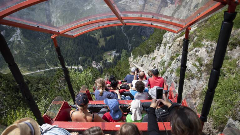 An image that illustrates this article 10 best funicular mountain trains in the world