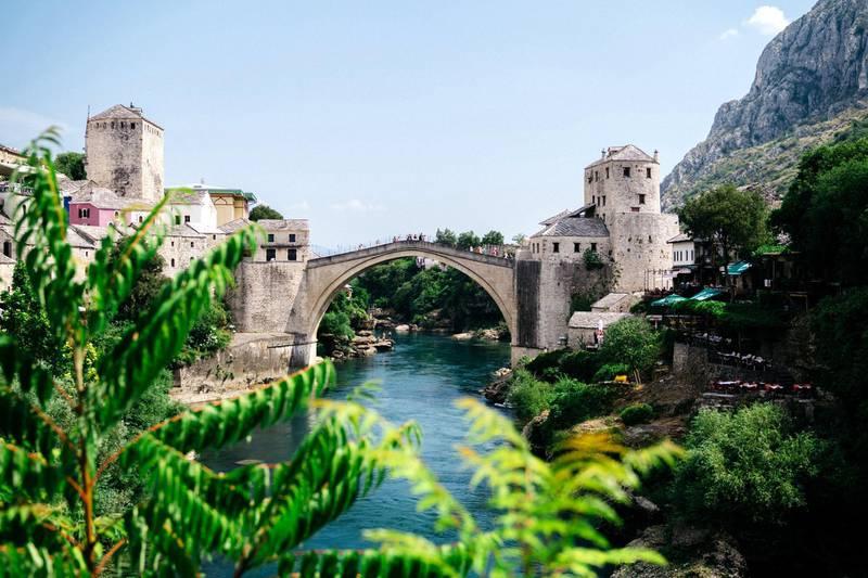 Stari Most- The bridge at Mostar. Photo: Christopher Wilton-Steer and The Aga Khan Development Network