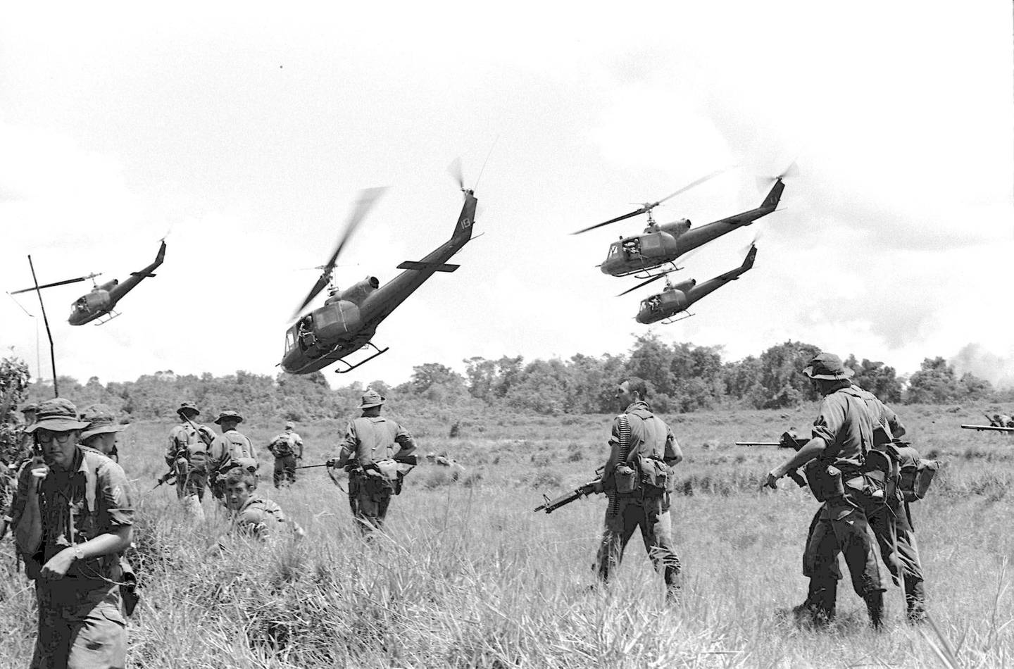 AUSTRALIAN TROOPS ON THEIR TOUR OF DUTY IN VIETNAM. PHOTO WAS TAKEN IN JUNE-JULY 1965. (Photo by Stuart Macgladrie/The Sydney Morning Herald/Fairfax Media via Getty Images via Getty Images)