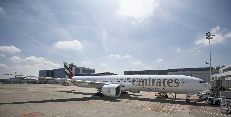 Emirates - Brussels Airport Belgium