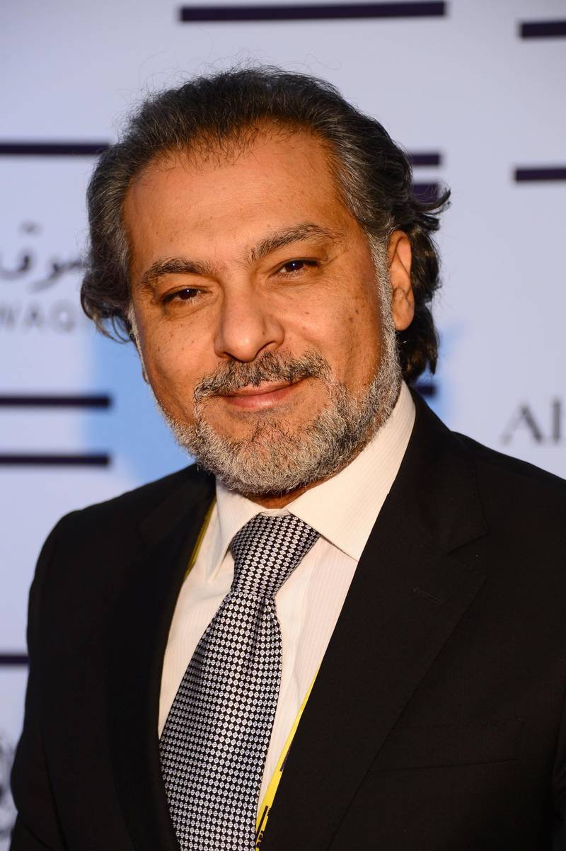 """DOHA, QATAR - NOVEMBER 20:  Hatem Ali  attends the """"Till I Breathe this Life"""" premiere during the 2012 Doha Tribeca Film Festival at the Al Mirqab Boutique Hotel on November 20, 2012 in Doha, Qatar.  (Photo by Andrew H. Walker/Getty Images for Doha Film Institute)"""