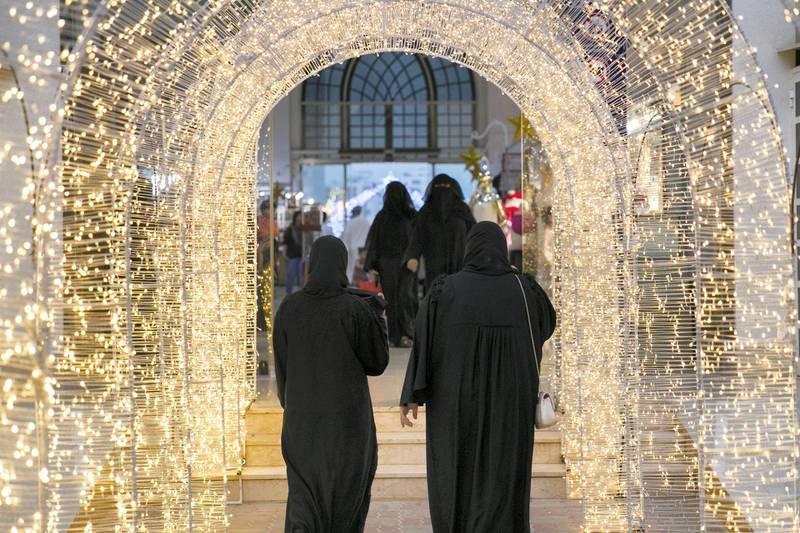 RAS AL KHAIMAH, UNITED ARAB EMIRATES - AUGUST 13, 2018. Ras Al Khaima's Eid Al Adha fair, in RAK's Exhibition center.(Photo by Reem Mohammed/The National)Reporter: RUBA HAZASection:  NA
