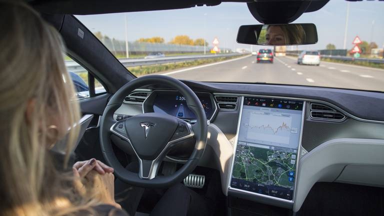 An image that illustrates this article Tesla's secretive Autopilot data cracked by Dutch forensic scientists