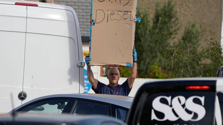 An image that illustrates this article Fuel crisis spreads across UK as surging prices hit drivers hard
