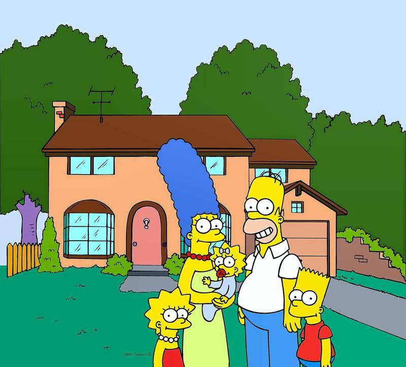 RYCJG4 LISA, MARGE, MAGGIE, HOMER,BART, THE SIMPSONS : SEASON 3, 1991
