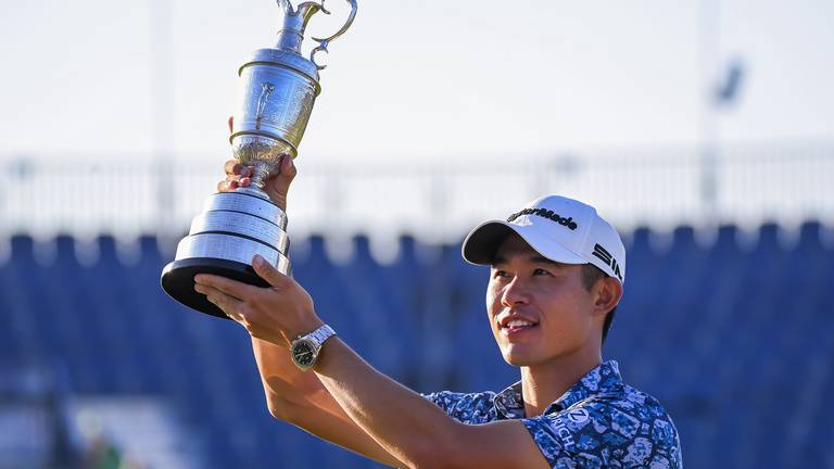 An image that illustrates this article Mighty Morikawa and resurgent Spieth: The Open's major talking points