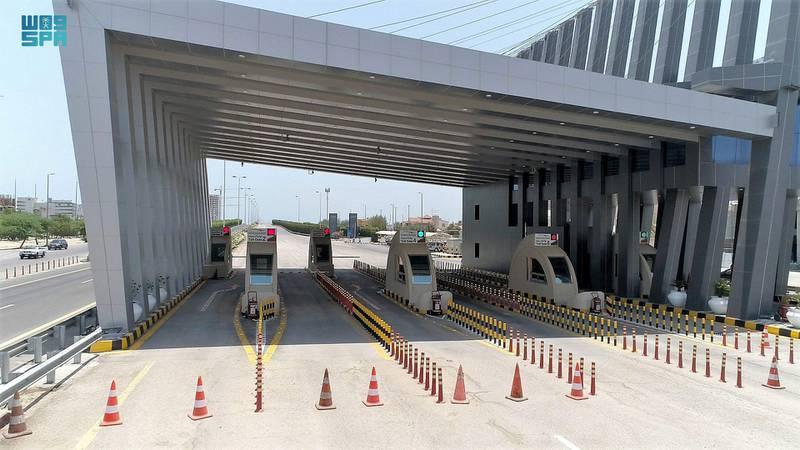 King Fahd Causeway completes preparations to receive travelers between Saudi Arabia and Bahrain. SPA