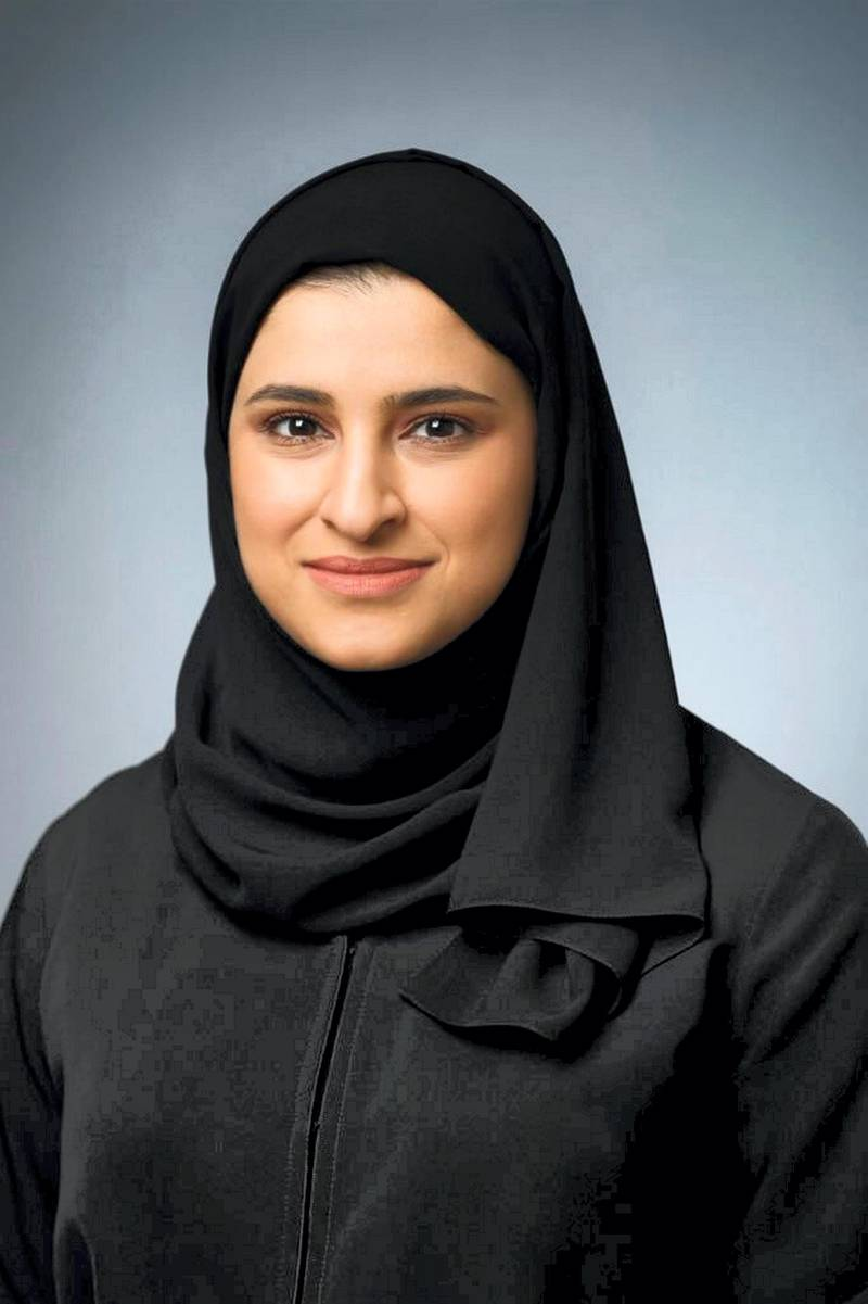 Sarah Al-Amiri appointed as President of the Emirates Space Agency. Courtesy: Mohammed bin Rashid Twitter account