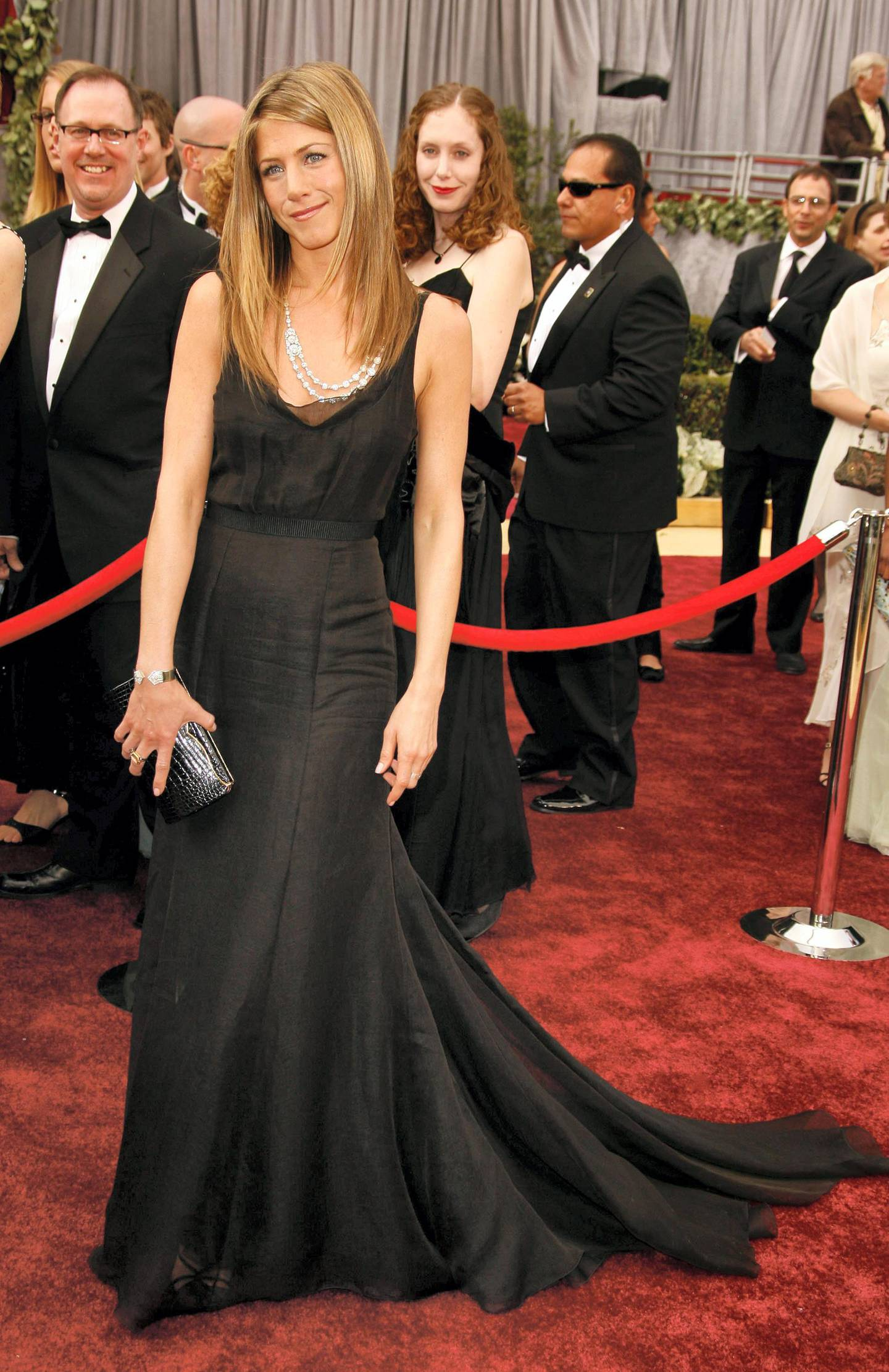 Jennifer Aniston The 78th Annual Academy Awards - Arrivals Kodak Theatre Hollywood , California United States March 5, 2006 Photo by Steve Granitz/WireImage.com  To license this image (7760799), contact WireImage: U.S. +1-212-686-8900 / U.K. +44-207 659 2815 / Australia +61-2-8262-9222 / Japan: +81-3-5464-7020 +1 212-686-8901 (fax) info@wireimage.com (e-mail) www.wireimage.com (web site)