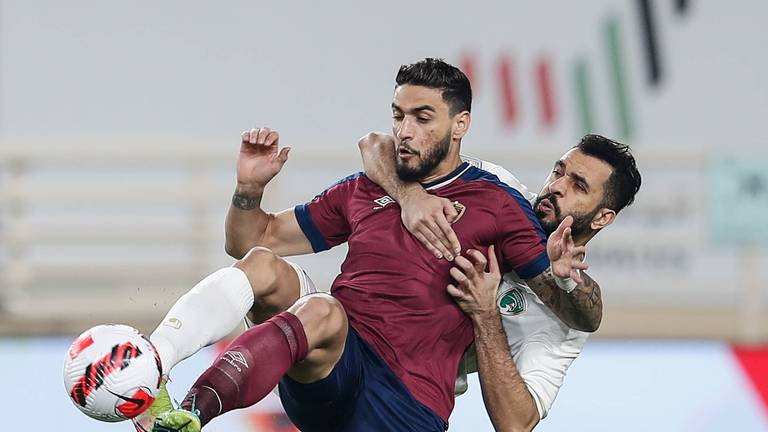 An image that illustrates this article Al Wahda end run of five draws with victory over Emirates