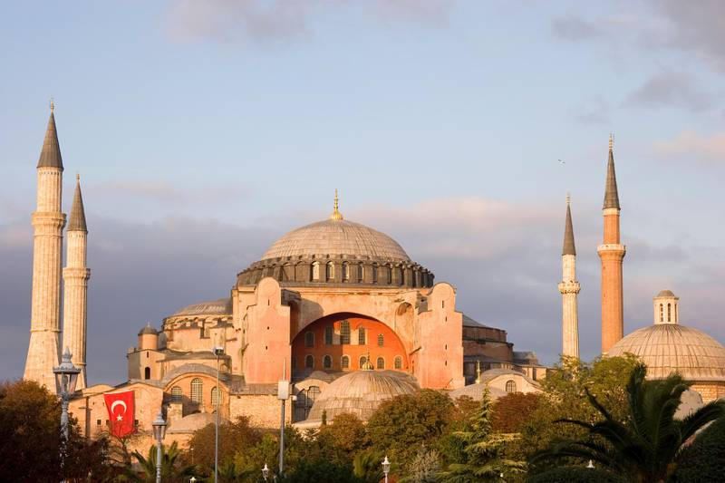 Hagia Sophia (the Church of Holy Wisdom) is one of the greatest surviving examples of Byzantine architecture, now converted to a museum. (iStockphoto.com)