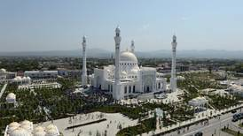 Chechnya inaugurates Europe's largest mosque