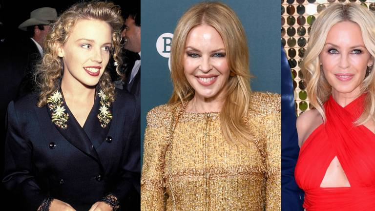 An image that illustrates this article Love at first sight? Kylie Minogue's style evolution in 62 photos