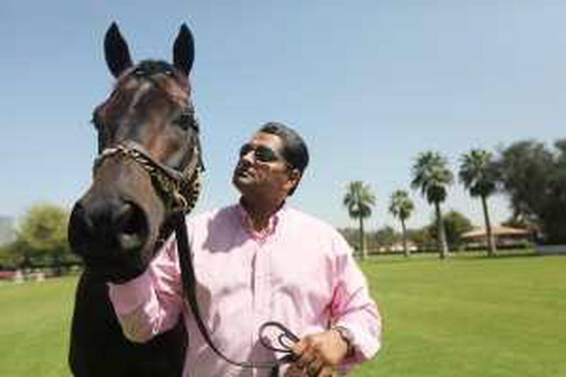 United Arab Emirates - Dubai - March 21st, 2010:  Satish Seemar, the stable manager at Zabeel Racing stables.  (Galen Clarke/The National) for money and me