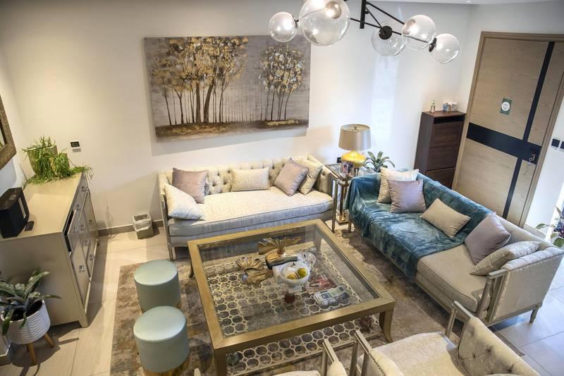 DUBAI UNITED ARAB EMIRATES. 12 NOVEMBER 2020. Community guide: Jumeirah Village Circle. Stand alone 4 bedroom villa in JVC. (Photo: Antonie Robertson/The National) Journalist: Sarwat Nasir. Section: Business.