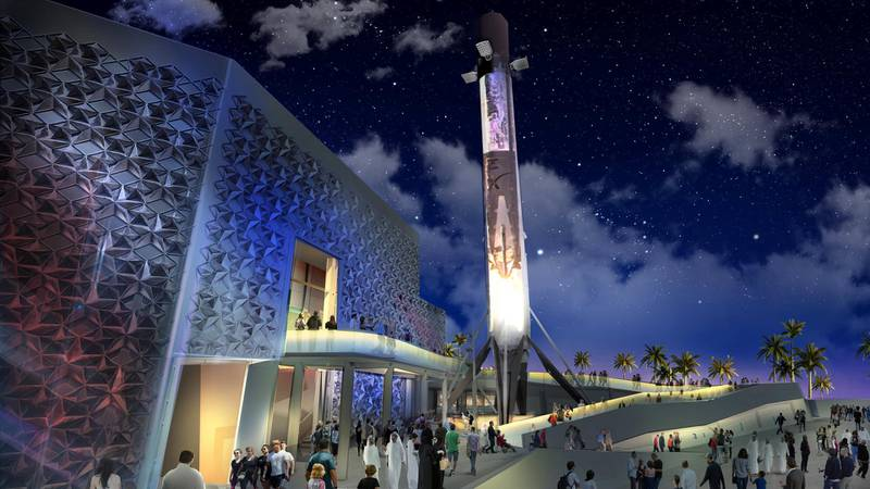 Construction of the US pavilion at the World Fair in Dubai will be completed in November after delays due to a funding shortfall until the UAE stepped in to pay for the structure earlier this year. The tagline of the new US pavilion is life, liberty and the pursuit of the future. The message will be to showcase American innovation and entrepreneurship.  Space will be one of the main themes of the pavilion. Courtesy: USA Pavilion at Expo 2020