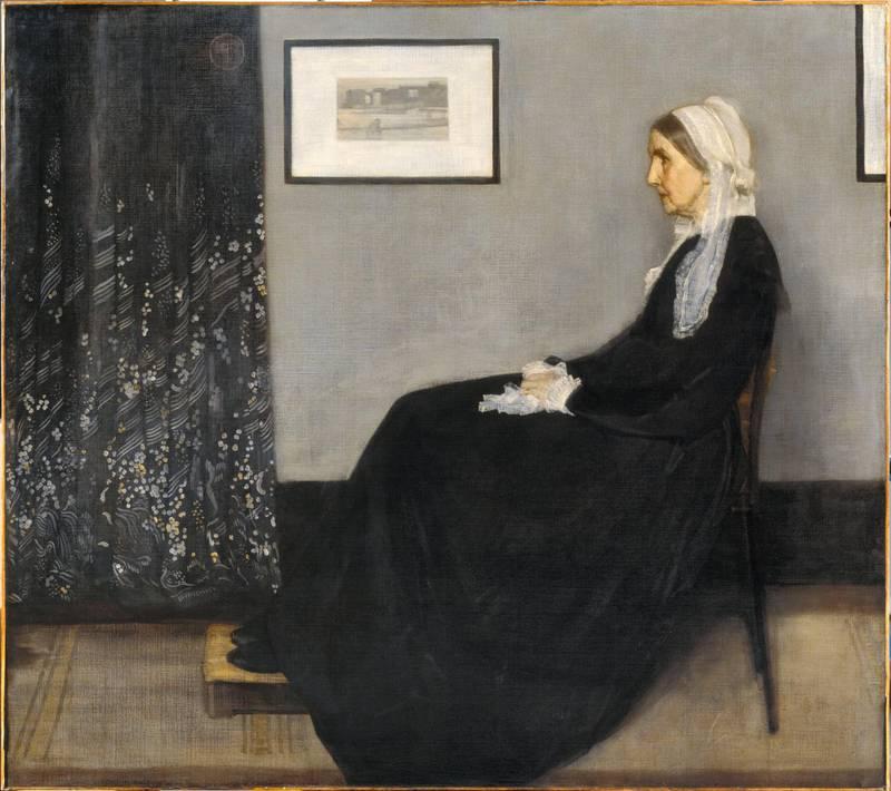 Whistler James Abbott Mac Neil (1834-1903). Paris, musée d'Orsay. RF699.