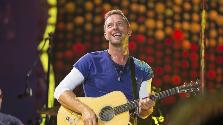 An image that illustrates this article Coldplay's Chris Martin to perform at Armani's One Night Only Dubai event