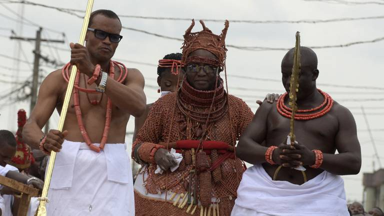 An image that illustrates this article How the riddle of 'Adam' turned the tide against African 'juju' trafficking gangs