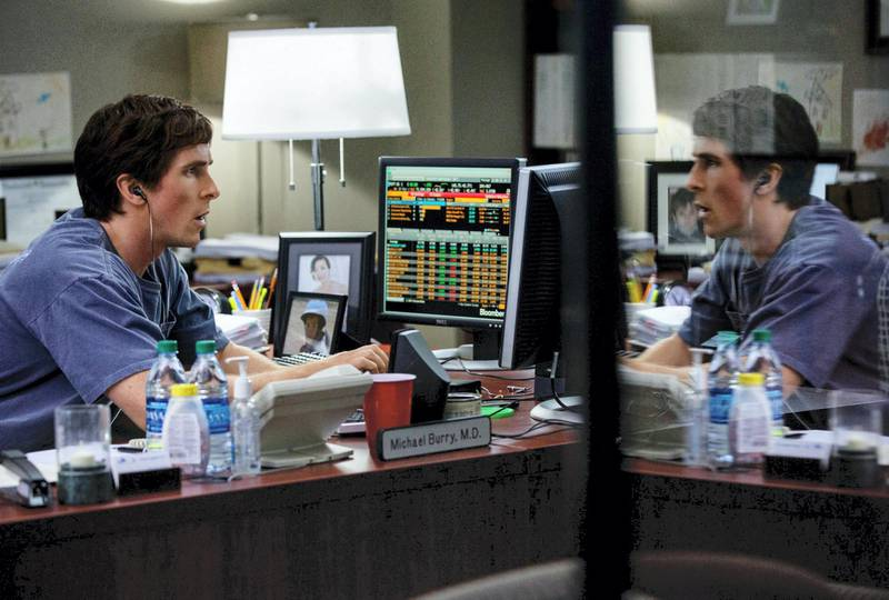 Editorial use only. No book cover usage.Mandatory Credit: Photo by Moviestore/Shutterstock (5490014c)Christian Bale'The Big Short' film - 2015