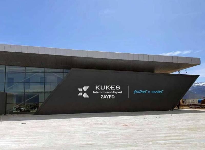 "Kukës International Airport ""Zayed-Flatrat e Veriut"". Courtesy Kukës International Airport"