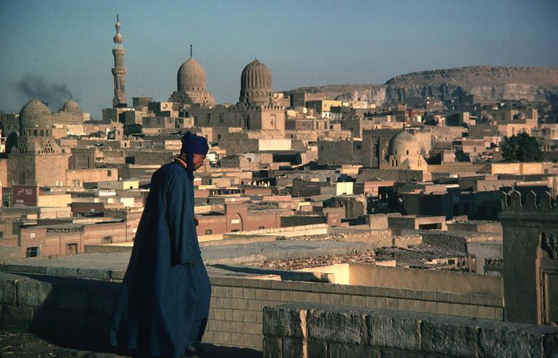 General View, mosques. Historic Cairo (Egypt)