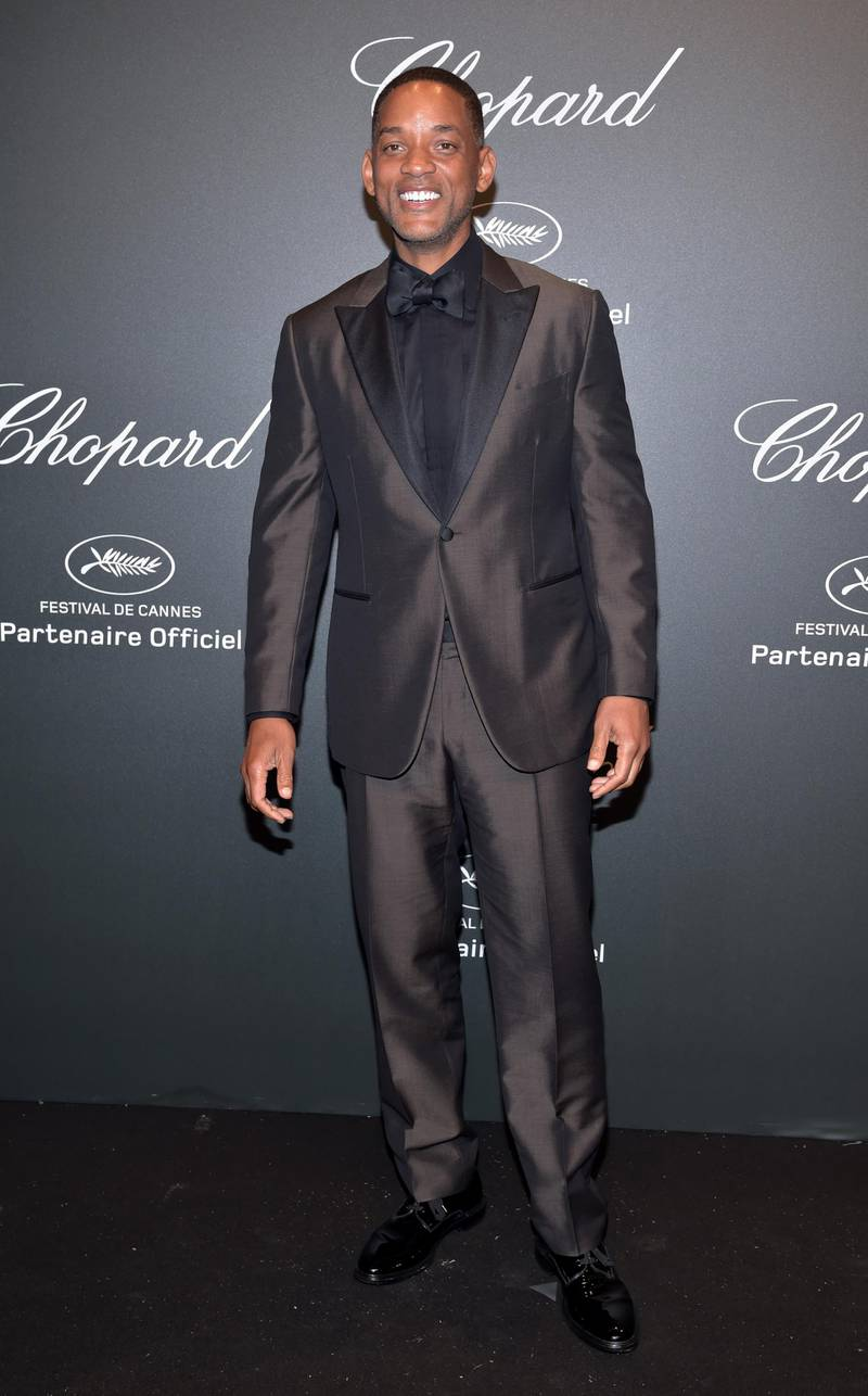 """CANNES, FRANCE - MAY 19:  Will Smith attends the Chopard """"SPACE Party"""", hosted by Chopard's co-president Caroline Scheufele and Rihanna, at Port Canto on May 19, 2017, in Cannes, France.  (Photo by Pascal Le Segretain/Getty Images for Chopard)"""