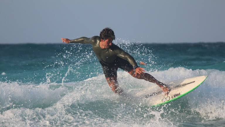 An image that illustrates this article Egypt's first surf camp proves you can catch waves on the Mediterranean Sea