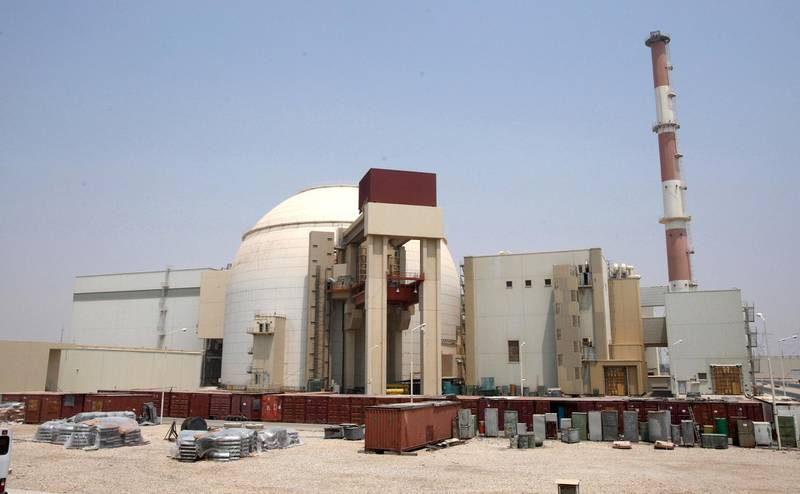 epa03655165 (FILE) A file picture dated 21 August 2010 shows a general view of the Iranian nuclear power plant in Bushehr, southern Iran. Media reports state on 09 April 2013 that an earthquake has struck near Bushehr, the site of Iran's nuclear power station. Currently there is no information on casualties.  EPA/ABEDIN TAHERKENAREH *** Local Caption *** 50783062