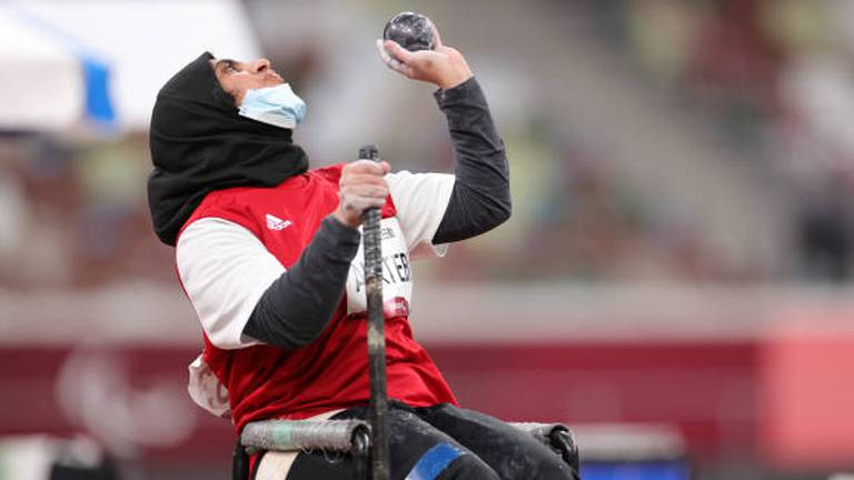 An image that illustrates this article UAE's Noura Al Ketbi narrowly misses out on Paralympics medal