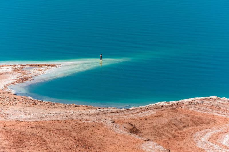 View from Dead Sea