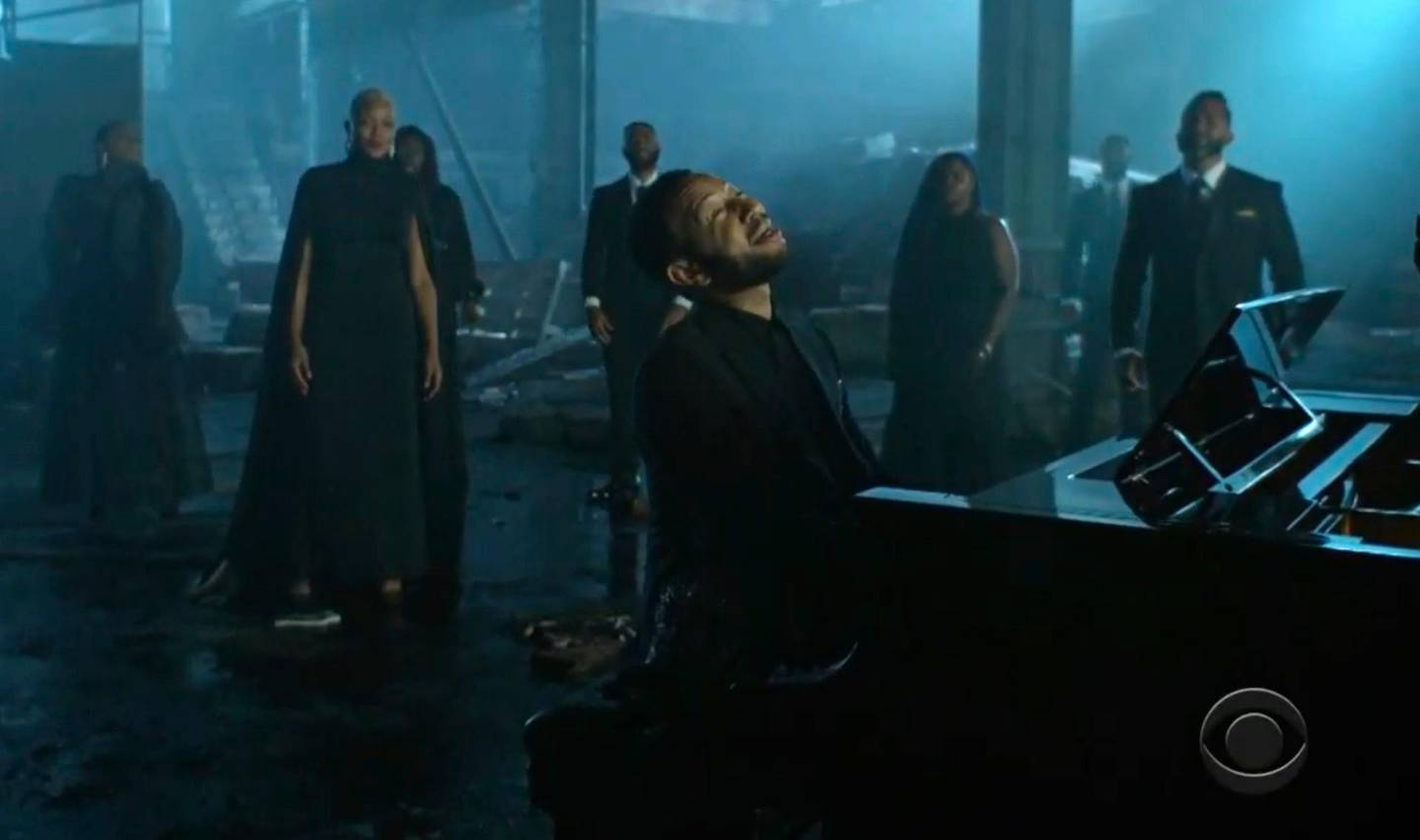 In this video grab issued Sunday, June 28, 2020, by BET, John Legend performs during the BET Awards. (BET via AP)