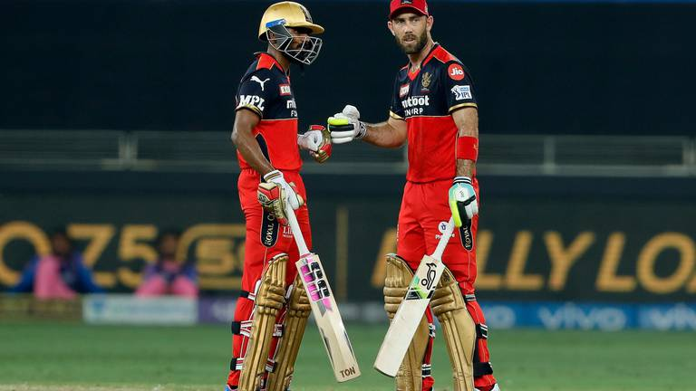 An image that illustrates this article Maxwell and Christian face online abuse after Bangalore's IPL 2021 exit