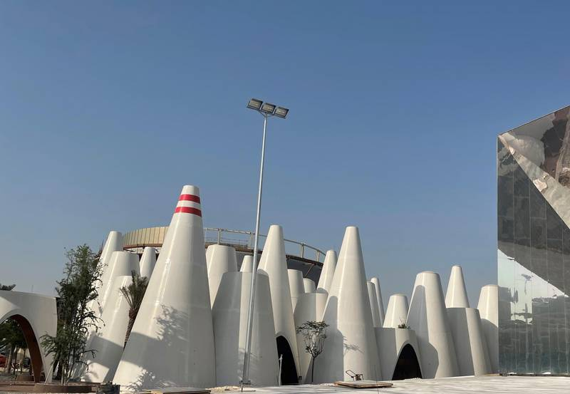 Austria Pavilion at Expo 2020 Dubai. Courtesy Austria Pavilion
