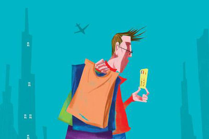 illustration for my financial mistake personal finance jan 9, 2010Illustration by Rahul for The National