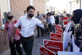 Canadian PM Trudeau makes final push before Monday's election