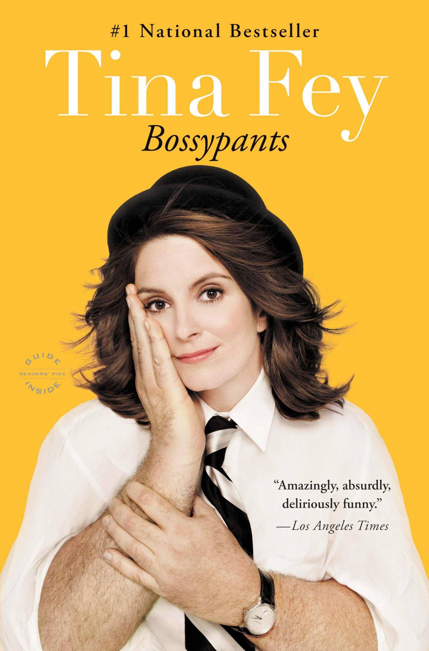 Bossypants by Tina Fey. Courtesy Little, Brown And Company