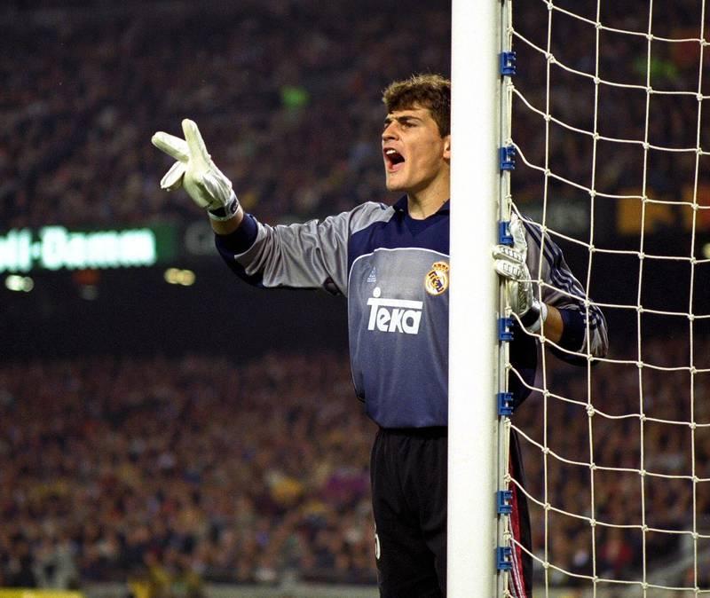 Football - Stock Season 00/01 Iker Casillas - Real Madrid Goalkeeper Mandatory Credit:Action Images / Michael Craig