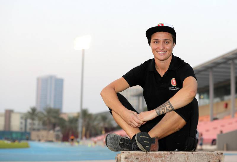 Dubai, United Arab Emirates - Reporter: Patrick Ryan. News. POAN. Holly Louise Murphy who started an organisation in Dubai to allow disabled children to take part in sports. Wednesday, September 9th, 2020. Dubai. Chris Whiteoak / The National