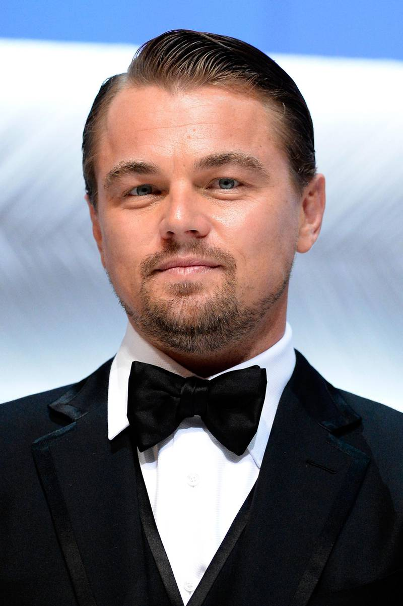 CANNES, FRANCE - MAY 15:  Leonardo DiCaprio appears on stage during the Opening Ceremony of the 66th Annual Cannes Film Festival at the Palais des Festivals on May 15, 2013 in Cannes, France.  (Photo by Pascal Le Segretain/Getty Images) *** Local Caption ***  AL29OC-CROWNS-DICAPRIO.jpg