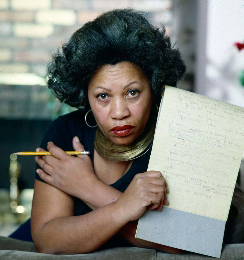 Pulitzer Prize-winning author Toni Morrison photographed in New York City in 1979. (Photo by Jack Mitchell/Getty Images)