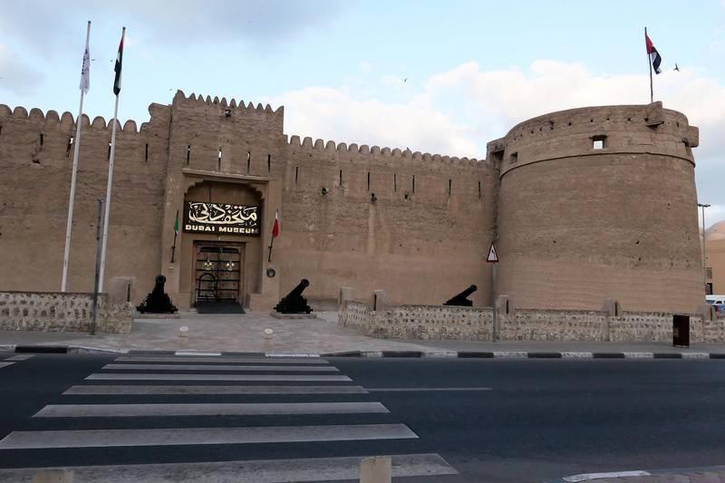 DUBAI, UNITED ARAB EMIRATES , Feb 4 – View of the Al Fahidi fort in Dubai. (Pawan Singh / The National) For Stock