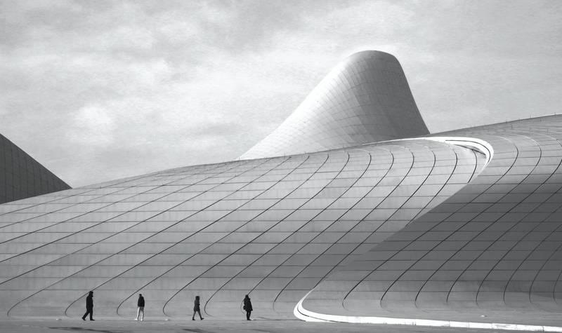 "Overall Winner: GCCA ""Concrete in Life"" global photography competition - Urban Amateur. WINNER:Nurlan Tahirli@nurlan_tahirliHeydar Aliyev Center in Baku, AzerbaijanCourtesy GCCA"